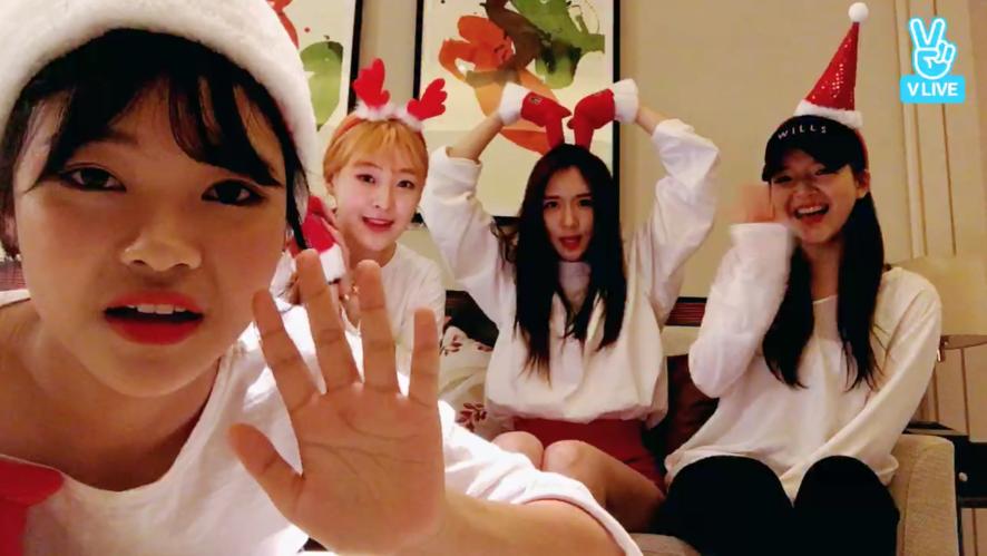 김영서, 김수아, 이향숙, 응씨카이 🎄Merry Christmas! 소년X소녀 릴레이 라이브☃️