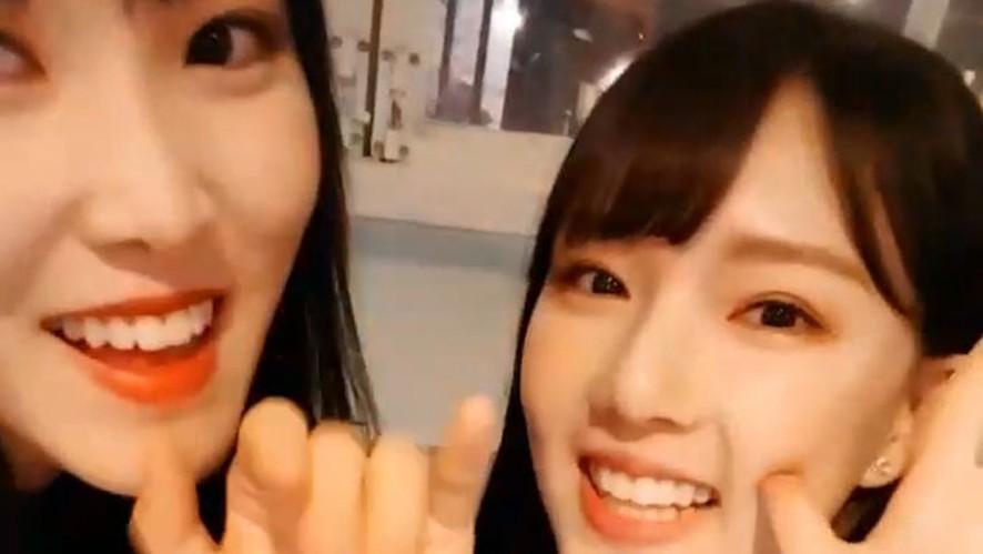 [GFRIEND] 고막여신 최유나.. 그리고 옌니의 예쁜 배경화면 찾는 법👂🔍 (Yuju&Yerin's X-mas V)