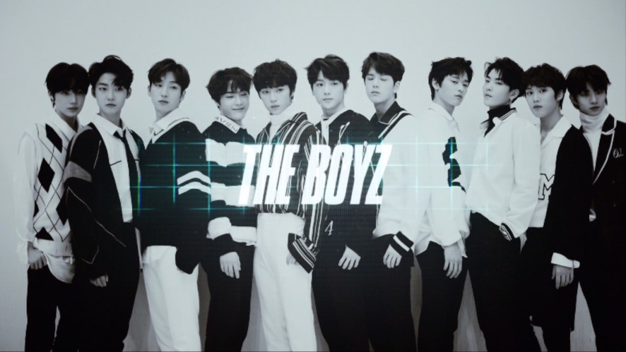 THE BOYZ DEBUT ALBUM 'THE FIRST(LIVE ver.)' Jacket Making