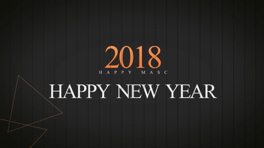 [마스크/MASC]2018년 새해 복 많이 받으세요 !