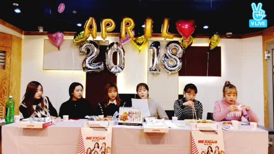 [APRIL] 2018년도 함께해요~♥