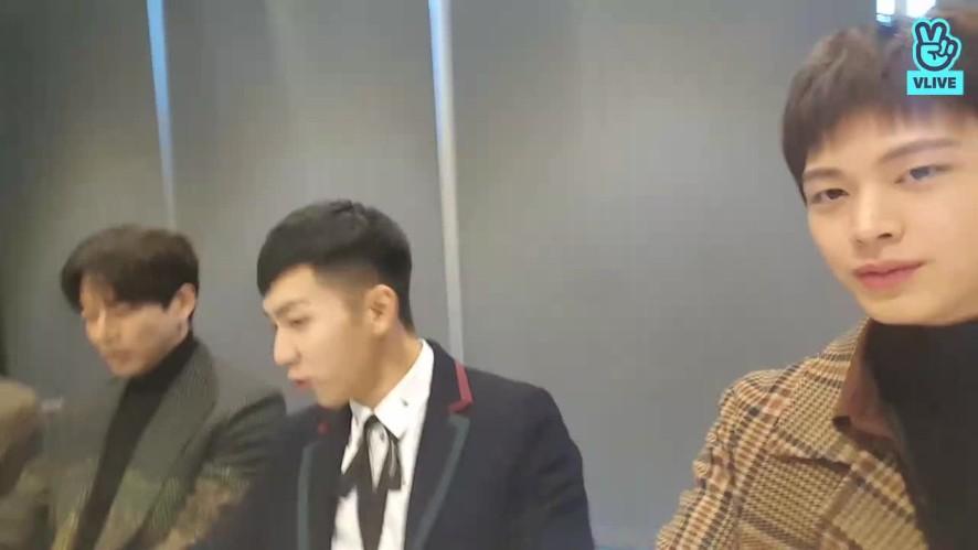 MC 성재의 <집사부일체> 대기실 V 라이브!