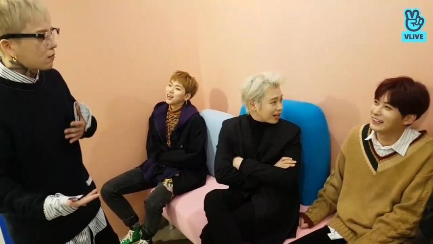 [Block B] 이탤과 째효의 티격태격 2018년에도 이렇게๑❛ᴗ❛๑(BLOCK B's V before new song being released)