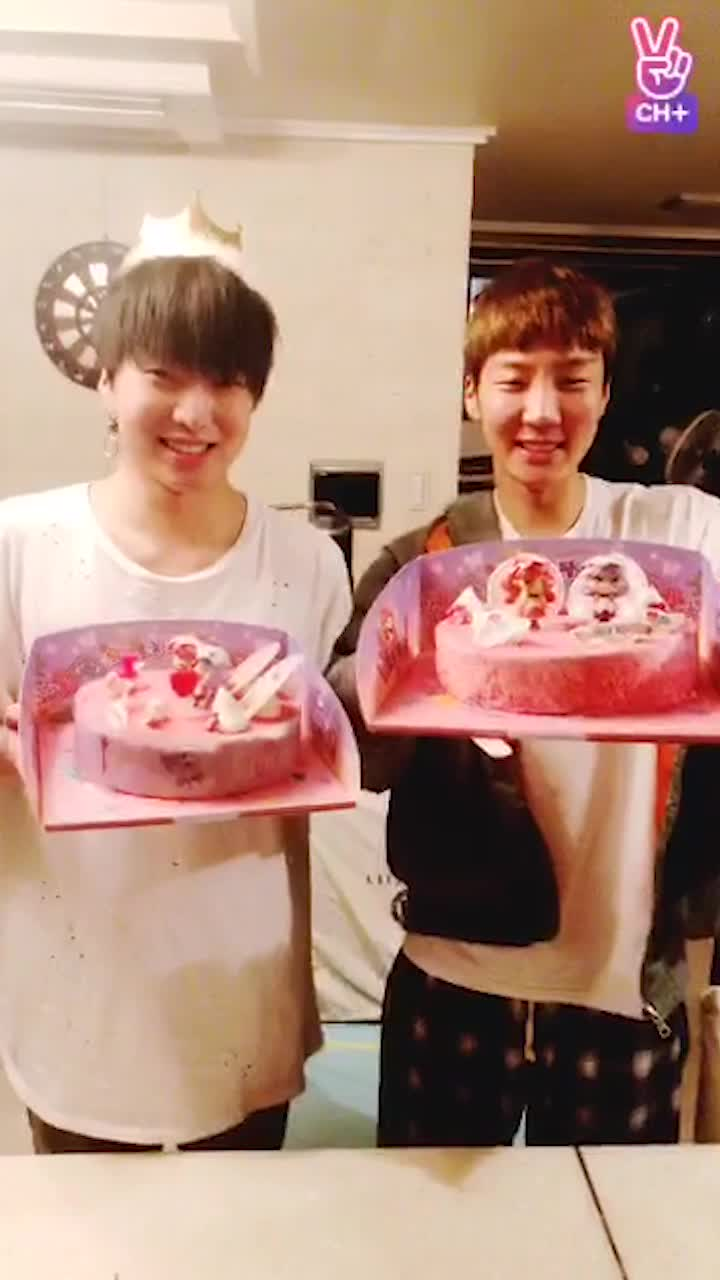 [CH+ mini replay]후니형 생일추카해 ~~~Hoon~ Happy Birthday!