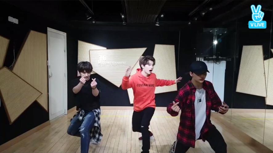 댄스라인의 댄스타임♡