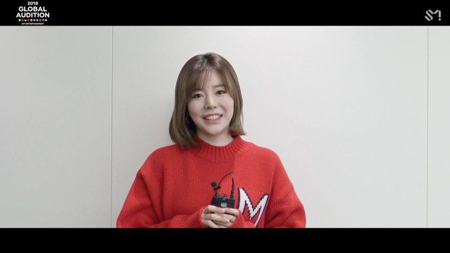 [MESSAGE FROM.SUNNY] 2018 S.M. GLOBAL AUDITION