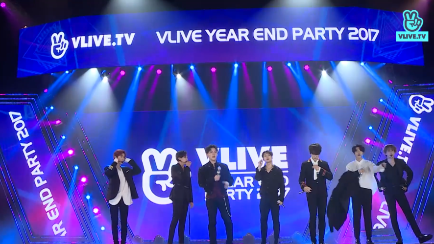 V LIVE YEAR END PARTY 2017 -[GOT7] Never Ever, You Are , If You Do, Teenager