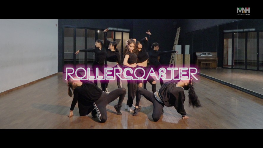 """청하(CHUNG HA) - """"Roller Coaster"""" 안무 영상 (Dance Practice)"""