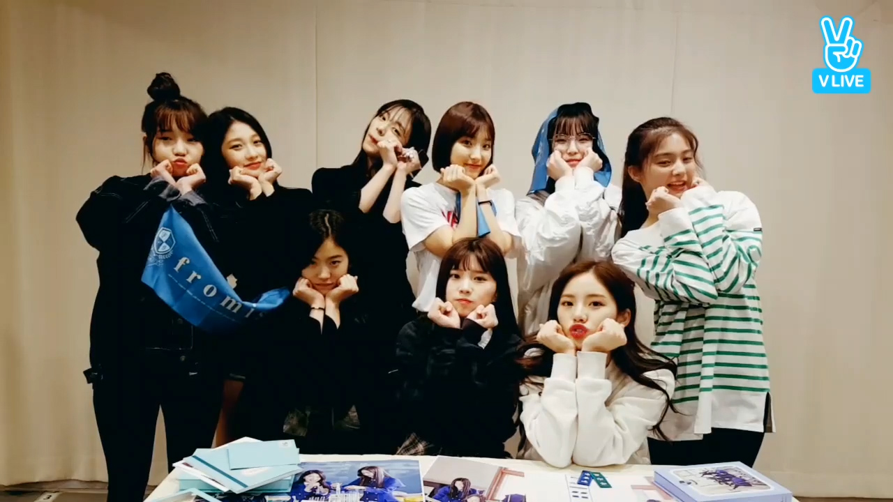 [fromis_9] 우리 프롬이들 꿈아 이뤄져라💛 (fromis_9's debut D-1)
