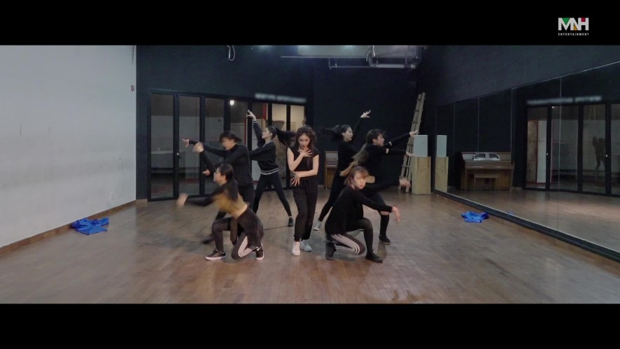 """청하(CHUNG HA) - """"Offset"""" 안무 영상 (Dance Practice)"""