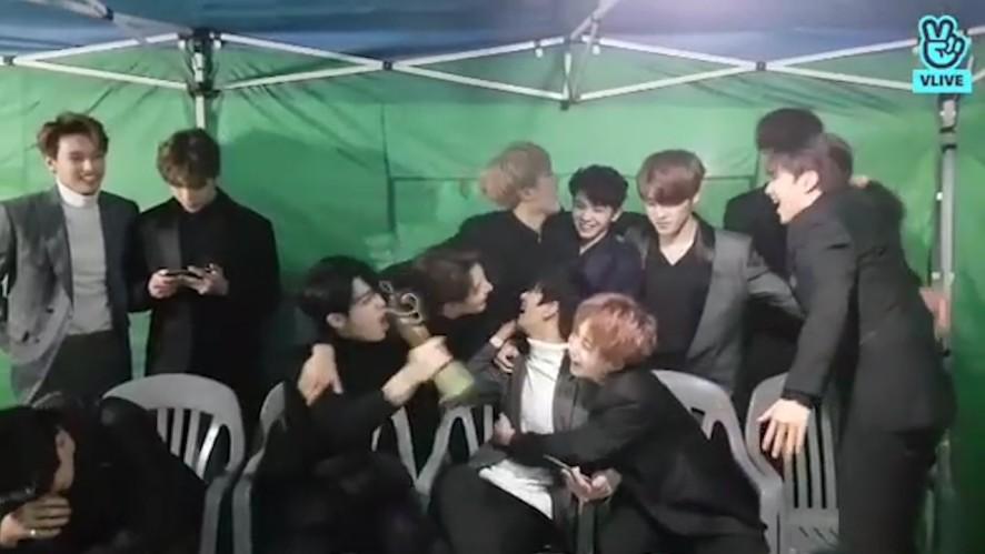 [SEVENTEEN] 이렇게 행복하고 기분 좋은 날엔 고기회식이죠오(feat.법카)💓 (SEVENTEEN's happy day)