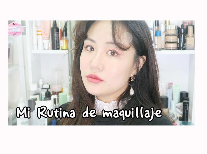 매일 매일 하는 데일리 메이크업 Mi Rutina de maquillaje   HANABONO de COREA