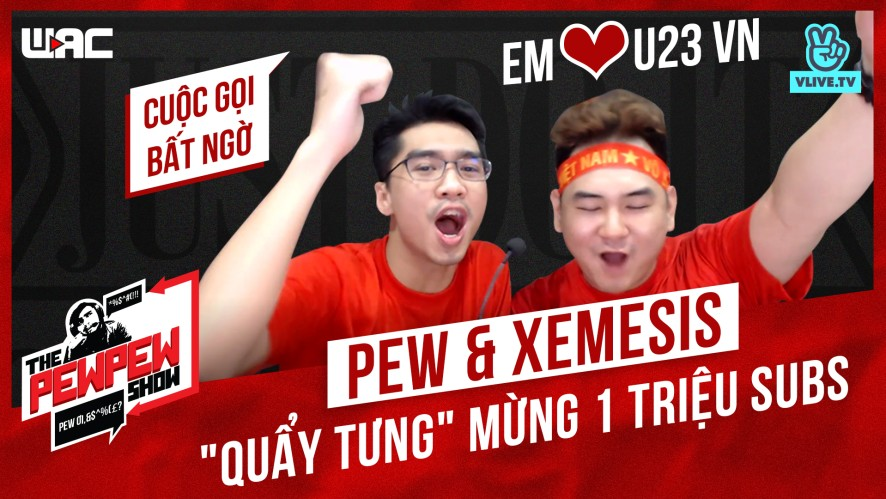 "[The Pewpew Show] Tập 24 - Pew & Xemesis ""quẩy tưng"" mừng 1 triệu subs"