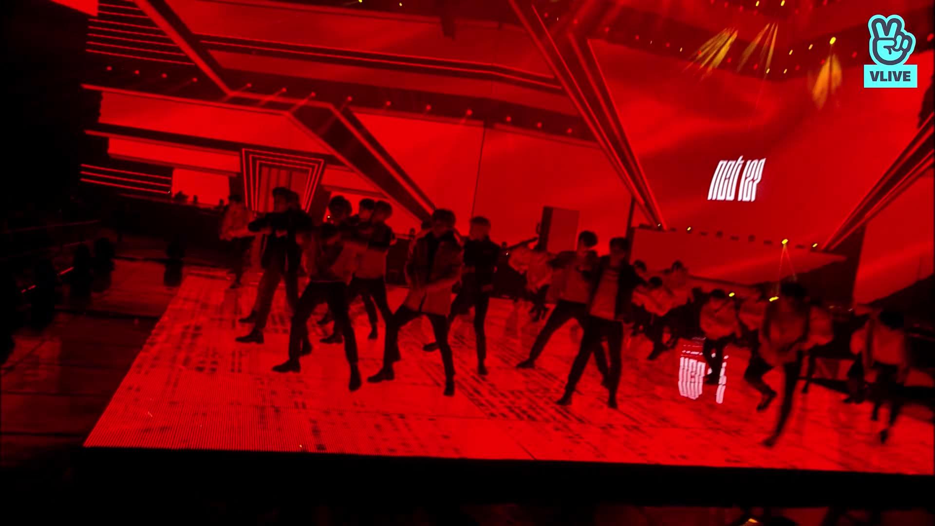 NCT127 - intro + Cherry Bomb (27th Seoul Music Awards)