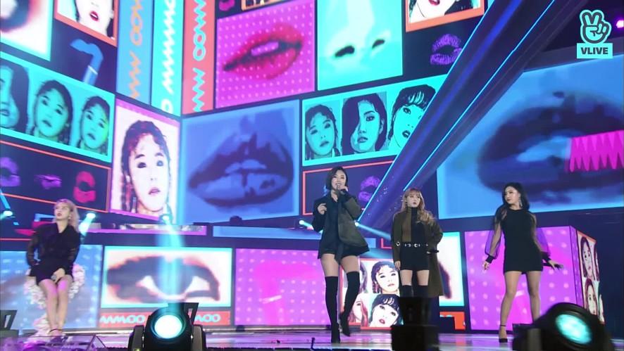 MAMAMOO - 칠해줘 + 나로 말할 것 같으면 (27th Seoul Music Awards)