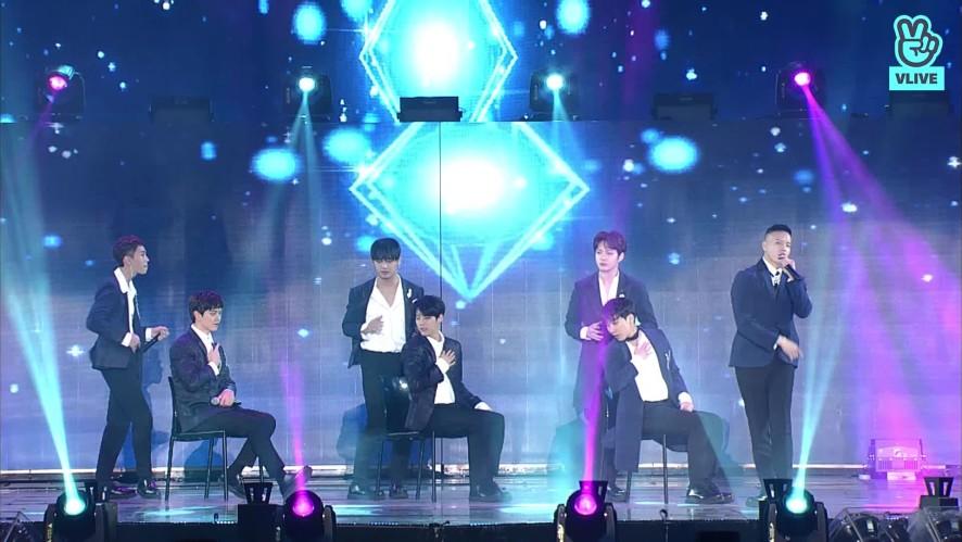 BTOB - intro + 그리워하다  (27th Seoul Music Awards)