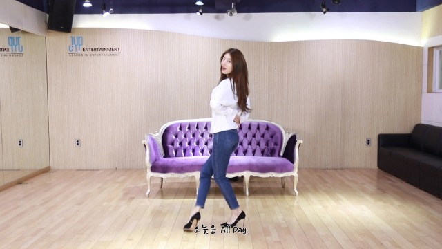 SUZY 'HOLIDAY (Feat. DPR LIVE)' Dance Practice