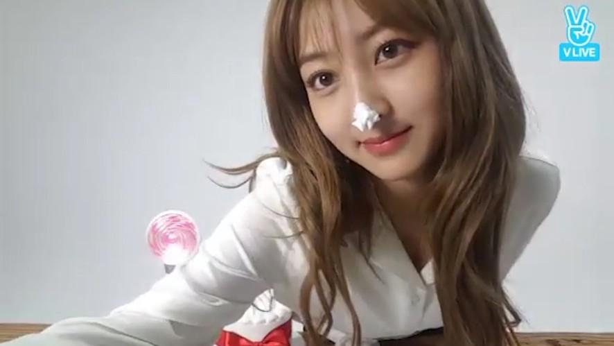 [1년 전 오늘의 TWICE] 지효야 1년 전에도, 오늘도 생일축하해💗 (Jihyo's birthday a year ago)