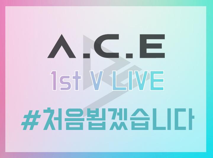 A.C.E #1. 처음 뵙겠습니다!