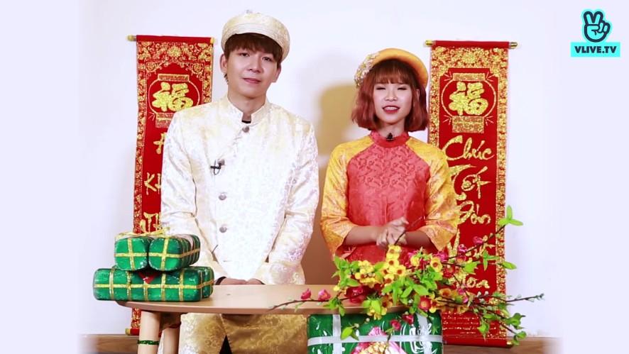 Kelvin Khánh & Khởi My chúc Tết 2018