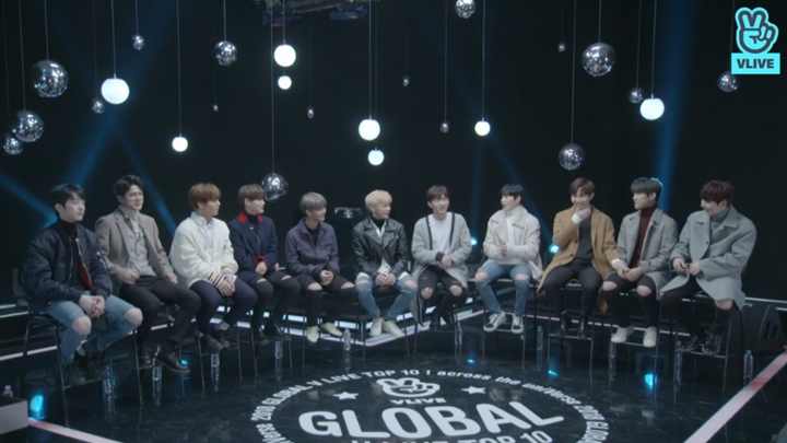 [FULL] 2018 GLOBAL VLIVE ROOKIE TOP 5 - Wanna One