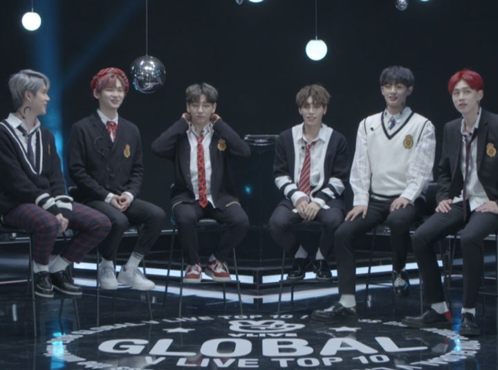 [FULL] 2018 GLOBAL VLIVE ROOKIE TOP 5 - JBJ