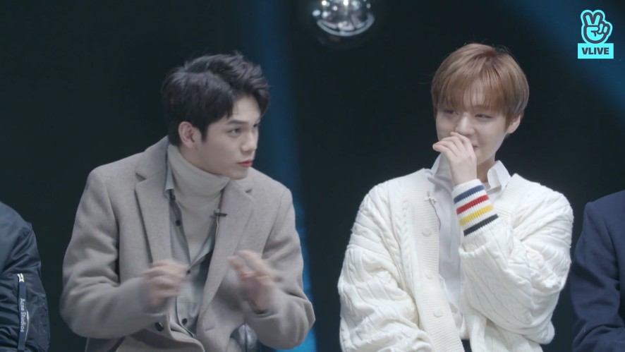 [Wanna One] 겸댕방댕 우리원 보면서 하루종일 행복회로 돌리면 되지? (🐷❌) (Seongwu talking about tough Jihoon&Daehwi's dance)