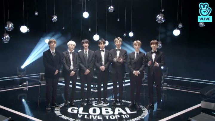 [FULL] 2018 GLOBAL VLIVE TOP 10 - BTS