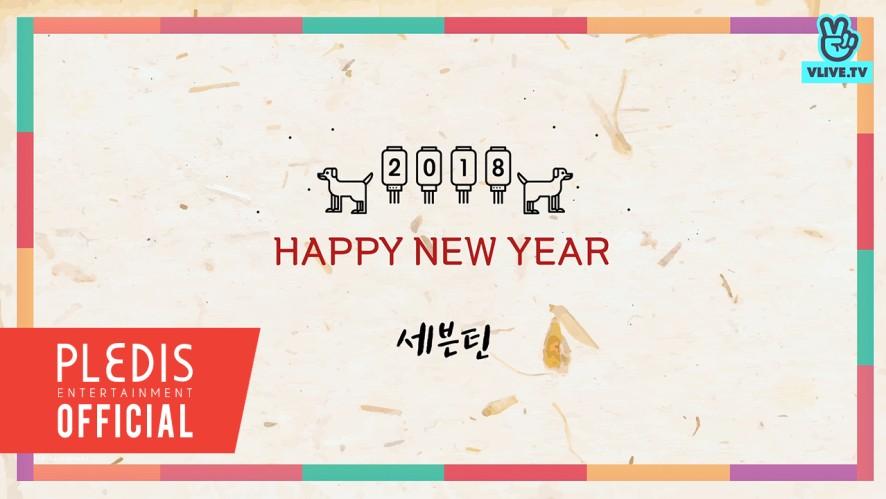 [독점 공개] 2018 SEVENTEEN(세븐틴)이 전하는 설 인사말