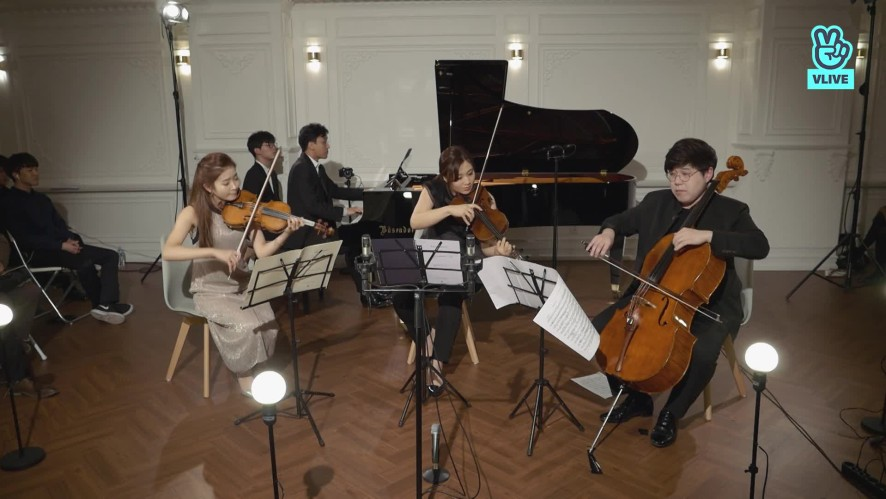[V살롱]칼라치스트링콰르텟&김정원-슈만: 피아노 사중주 작품47 4악장 R.Schumann: Piano Quartet Op.47 4th