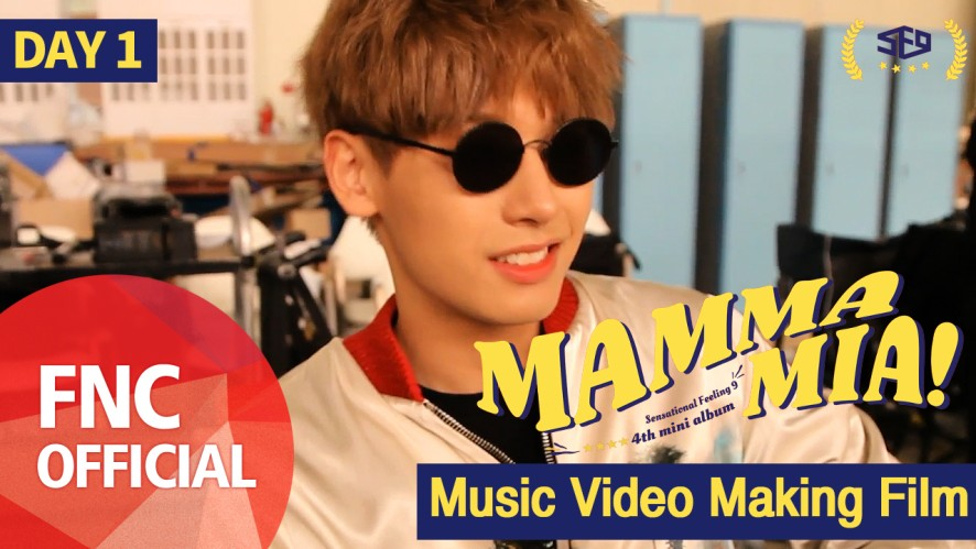 SF9 – MAMMA MIA M/V Making Film