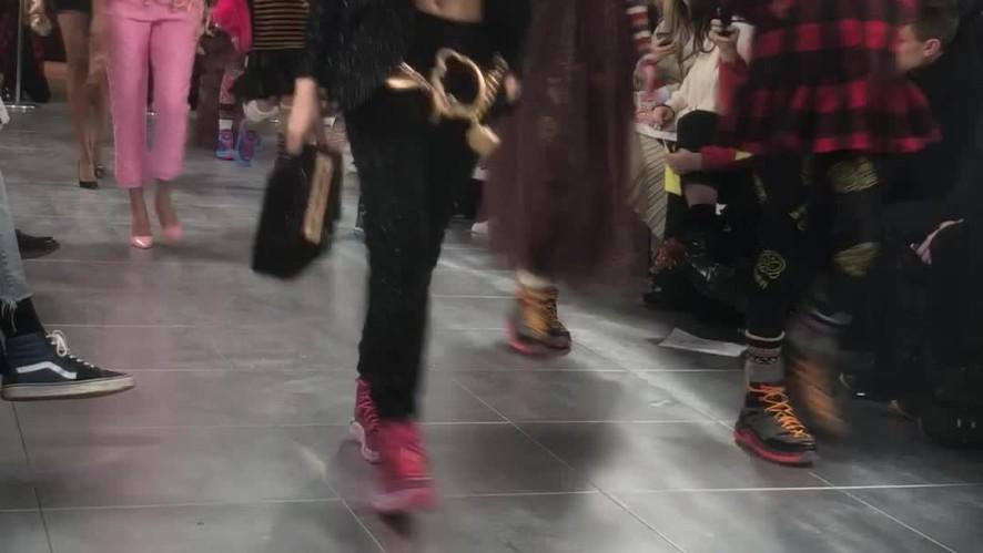 [London Fashion Week] Nicopanda Show - LFW Women's AW 18