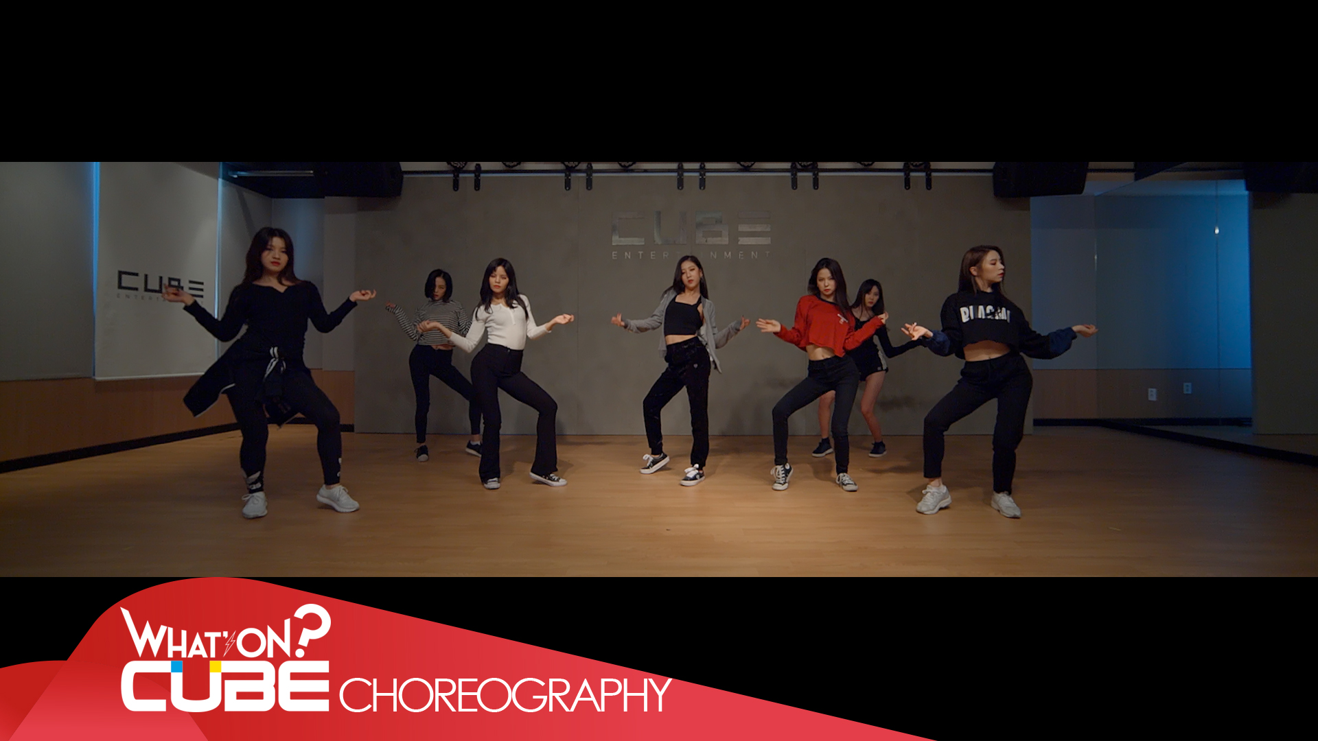 CLC - 'BLACK DRESS' (Choreography Practice Video)