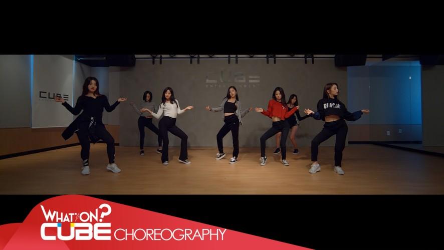 CLC - 'BLACK DRESS' (Choreography Practice Video)