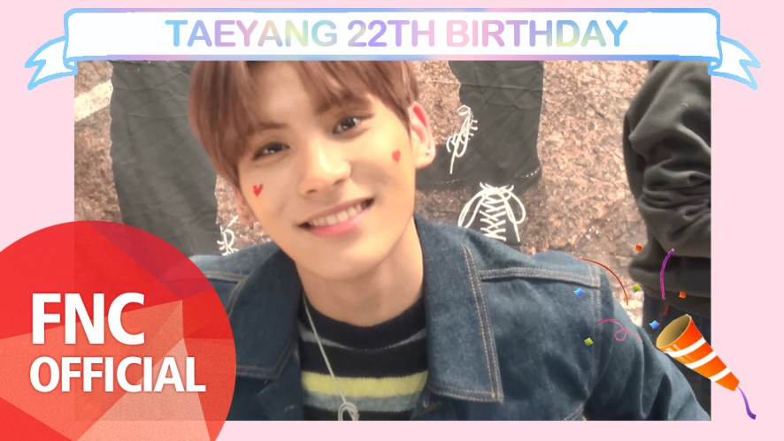 [HBD] TAEYANG 22TH BIRTHDAY