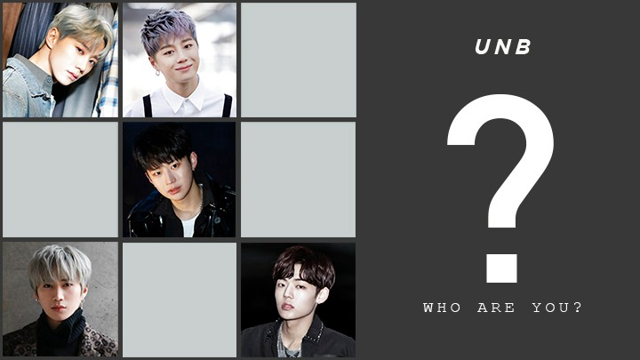 UNB, WHO ARE U? - 필독 ver.