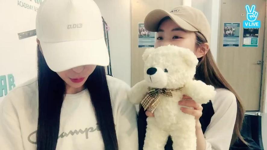 blahblah 데뷔 100일 기념방송 (은유리&효인)