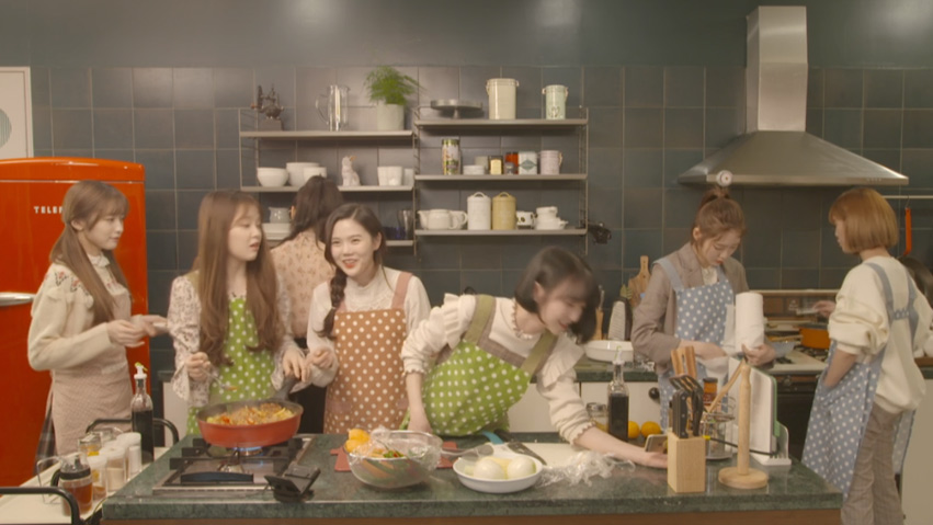 [Full]OH MY GIRL X Calling Recipe - 오마이걸 X 부재중레시피