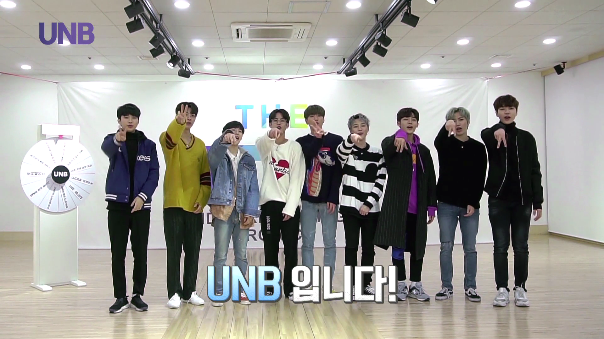 UNB THANKS TO FANMEETING VCR-Reality