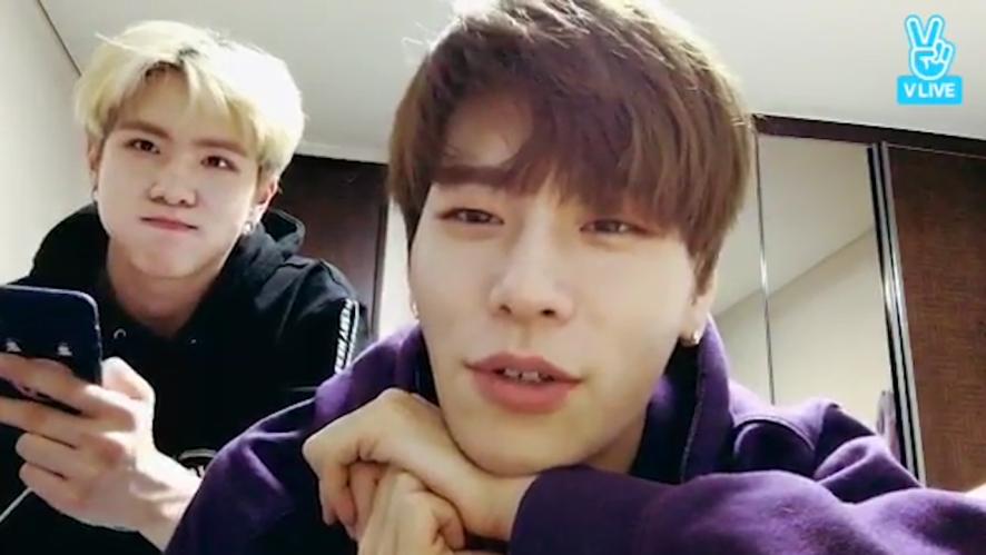 [JBJ] 상균호두 미모가 세상을 구한다🌎✨ (Sangkyun&Donghan handsomeness overload)