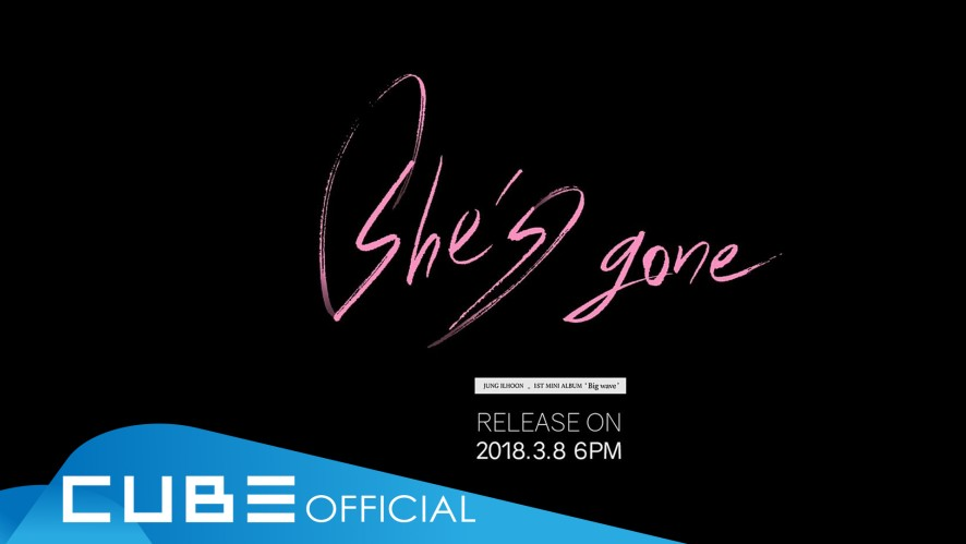 정일훈 - 'She's gone' M/V Teaser