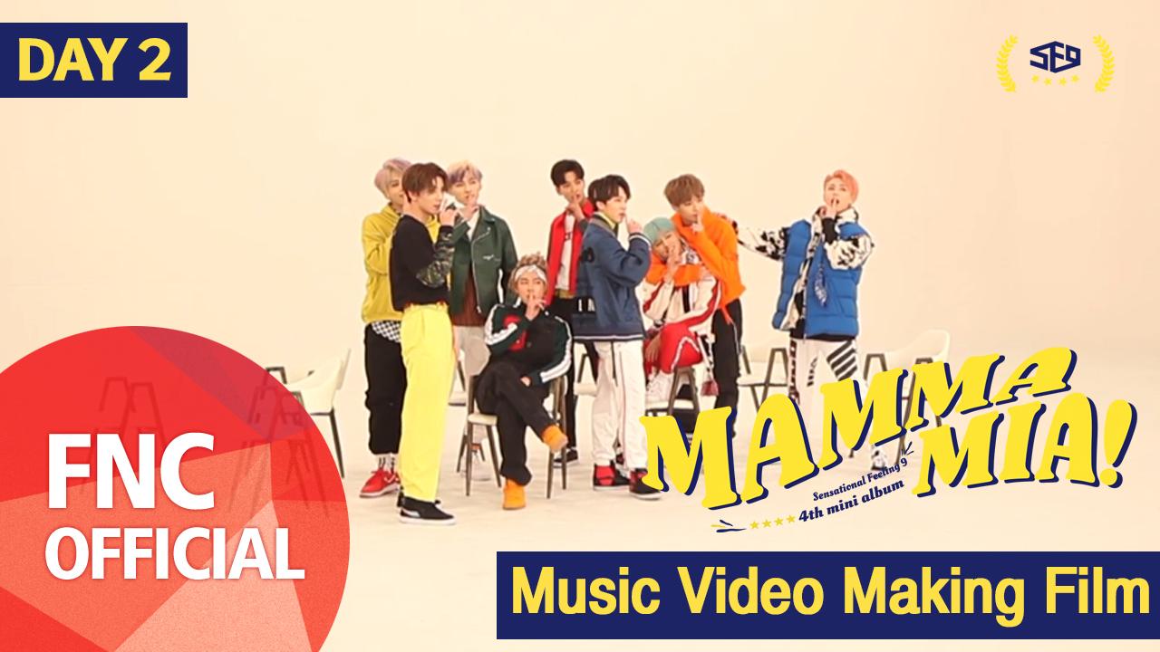 SF9 – MAMMA MIA M/V Making Film_DAY2