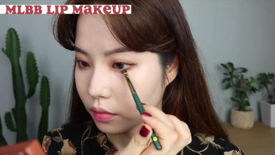 Monolid MLBB daily makeup