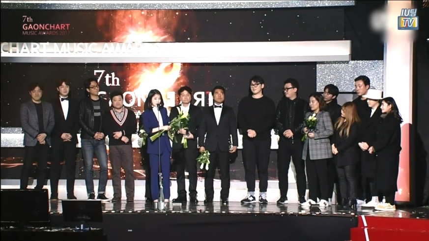 [IU TEAM TV] GAONCHART KPOP Awards