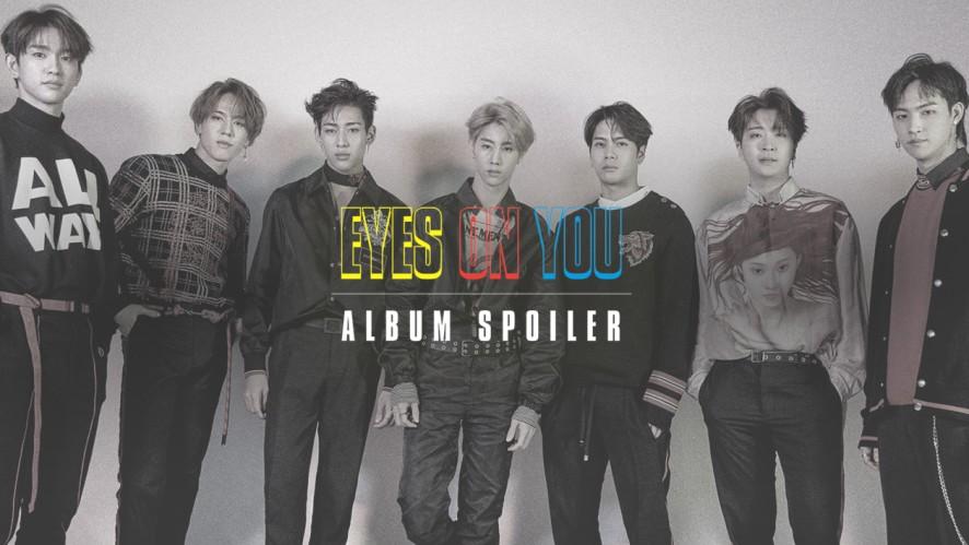 "GOT7(갓세븐) ""Eyes On You"" Album Spoiler"