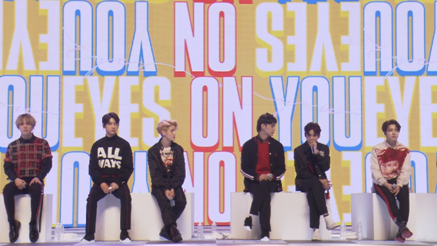 [FULL] GOT7 [Eyes On You] LIVE PREMIERE