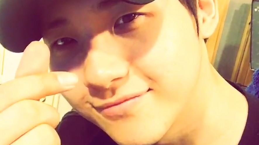 [B1A4] 깜짝 방송에 깜짝 곡공개를 하고 간 시누시누🐻 (CNU's surprise V)