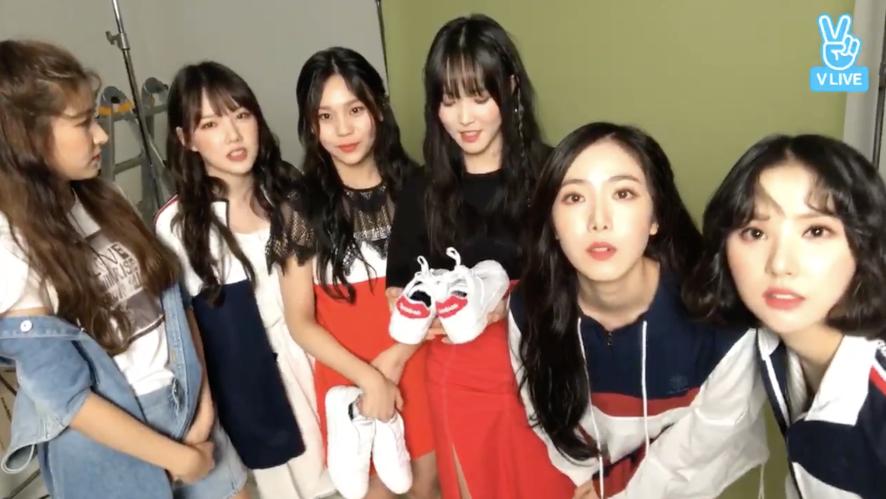 [GFRIEND] 요찌니들의 아무말대잔치(feat. 운동화👟) (GFRIEND with sneakers)
