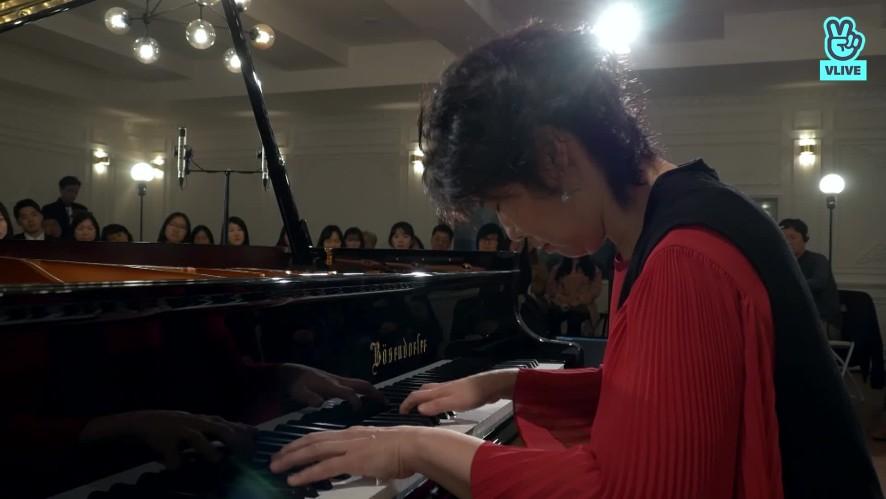 "[V살롱] 피아니스트 백혜선 - L.v. Beethoven : Piano Sonata ""Moonlight"" Op.27 No.2 3.Mov"