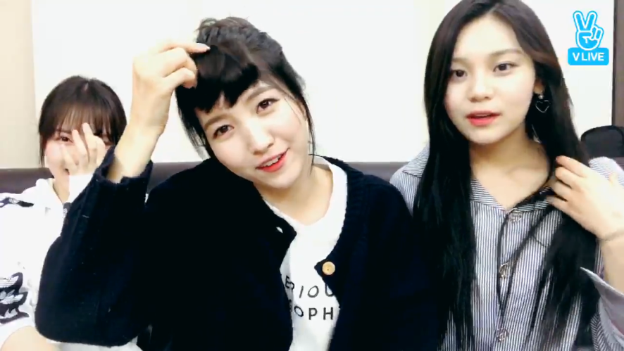 [GFRIEND] 엄지에몽 피스로 결성된 앞머리즈 (GFRIEND playing with hair pieces)